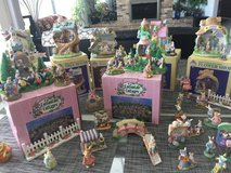 Easter village in Glendale Heights, Illinois