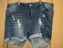 Wax Jean Distressed Shorts (T=41) in Fort Campbell, Kentucky