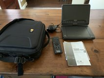 """Sony Portable 9"""" CD/DVD Player and Case Logic Case in Houston, Texas"""