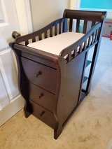 Changing table with drawers in Glendale Heights, Illinois