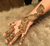 Henna Artist available for Graduation party in Kingwood, Texas