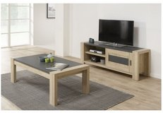 United Furniture - Hermes Coffee Table and TV Stand with Sliding Doors including delivery in Stuttgart, GE