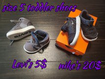 Size 5 Toddler shoes in Fort Sam Houston, Texas