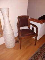 vintage chair, leather in Ramstein, Germany