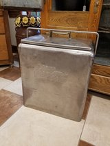 Vintage 1950's Coca Cola Stainless Cooler in Fort Leonard Wood, Missouri