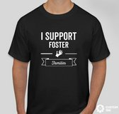 I support Foster families t-shirt in Fort Polk, Louisiana