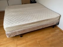 queensize mattress, boxspring &frame in Ramstein, Germany