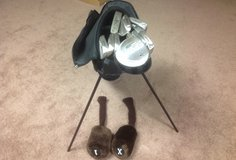 Left Handed Golf Club Set with Bag in Algonquin, Illinois