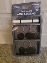 NEW  Sur La Table chalkboard wine charms in Plainfield, Illinois