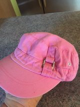 Girls summer pink hat Justice Sz small in Naperville, Illinois