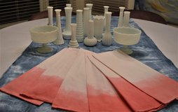 Cotton Napkins & Table Runners - Hand Dipped in St. Charles, Illinois