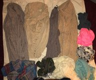 Womens cardigan sweaters/top, and scarves set in St. Charles, Illinois