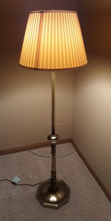 Antique Brass lamp table in Plainfield, Illinois