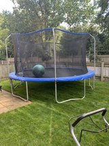 Trampoline in Lakenheath, UK