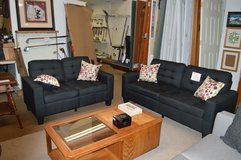 New Black Sofa & Love seat in Fort Lewis, Washington