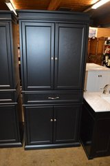 "New Garlock Black 72"" Tall Kitchen Pantry in Fort Lewis, Washington"