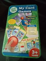 Leap Frog card games 3+years in Camp Lejeune, North Carolina