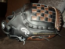 "Rawlings Youth Synthetic Black/Brown Baseball Glove (11"") in Fort Campbell, Kentucky"