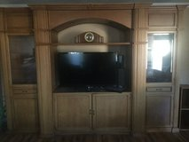 Wall unit/Entertainment Center in Camp Lejeune, North Carolina
