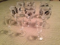 Set of stem glassware in Fort Leonard Wood, Missouri