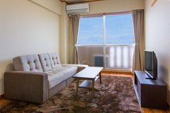 BEACH FRONT  MIHAMA FULLY FURNISHED APARTMENT AMERICAN VILLAGE in Okinawa, Japan
