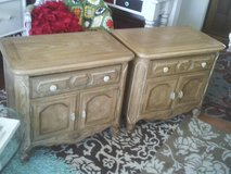 END TABLES BED ROOM TABLES PERFECT IN EVERY WAY SET OF TWO ,EACH HAS A in Orland Park, Illinois