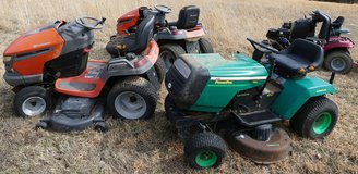 7x RIDING MOWERS - Project units for parts/repair $125 and up - MUST READ ENTIRE AD! in Rolla, Missouri