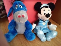 Disney Eeyore and Cinderella Minnie Mouse in Camp Lejeune, North Carolina