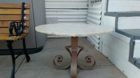 Antique Victorian Marble Bistro Table in Alamogordo, New Mexico