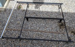 Queen heavy duty bed frame - looks like it might be adjustable. in Alamogordo, New Mexico