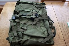military backpack in Lakenheath, UK