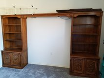 Large Bookcase/Media Center in Dyess AFB, Texas