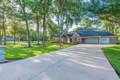 1story,4100', 4bdrm,5bath,3-car garage,2acre Corner lot,huge trees.Private Well/Septic.Off FM359... in Katy, Texas