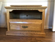 Oak TV Console in St. Charles, Illinois