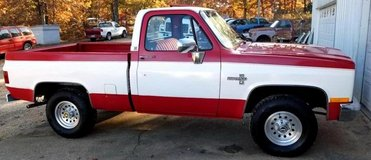 Nice 86 Chevy Truck 4X4 for sale ....... in Rolla, Missouri