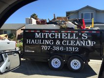 Local junk and Debris Hauling/cleanup in Fairfield, California
