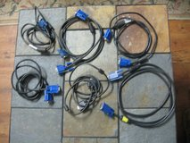VGA Video Cables (5 count) in Kingwood, Texas