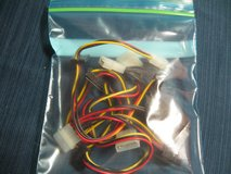Molex Dual SATA Power Connctrs (4 cnt) in Kingwood, Texas