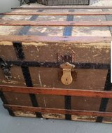 Antique trunk in The Woodlands, Texas