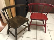 2 small child chairs in Houston, Texas