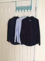 Men's size medium dress shirts lot in Fort Hood, Texas
