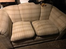 pull out couch w/mattress and love seat in Algonquin, Illinois