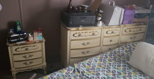 French provincial dresser & nightstands in Warner Robins, Georgia