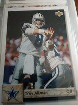 Troy aikman card number 597 in Yucca Valley, California