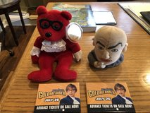 """Austin Powers Beanie, Dr. Evil Silly Slammer, 2 """"Goldmember"""" Promo Pins in Aurora, Illinois"""