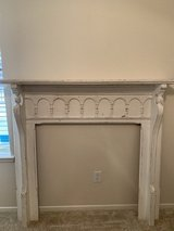 Antique Solid Wood Mantle in Kingwood, Texas