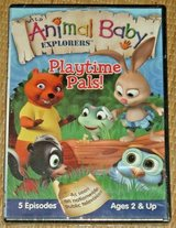 NEW Wild Animal Baby Explorers Playtime Pals DVD 5 Episodes TV Series in Plainfield, Illinois