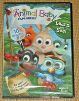 NEW Wild Animal Baby Explorers Learn and See DVD 10 Episodes TV Series in Morris, Illinois