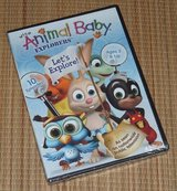 NEW Wild Animal Baby Explorers Lets Explore DVD 10 Eposides TV Series in Morris, Illinois