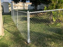 New Chain Link Fence in Okinawa, Japan